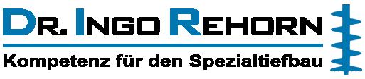 Dr. Ingo Rehorn - Kompetenz für den Spezialtiefbau Logo